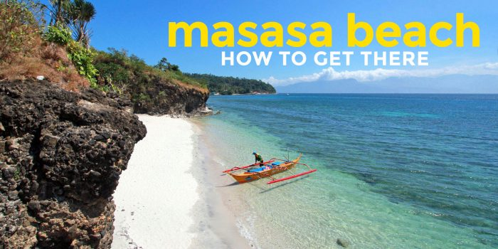 HOW TO GET TO MASASA BEACH, BATANGAS