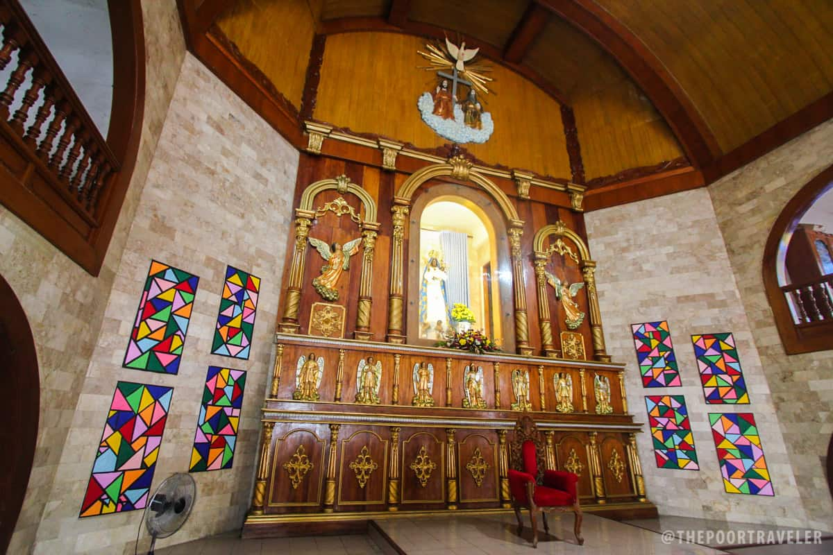 Basilica of Our Lady of Piat - Altar