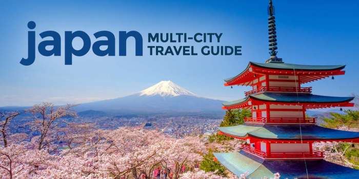 JAPAN MULTI-CITY TOUR: How to Plan a Budget Trip