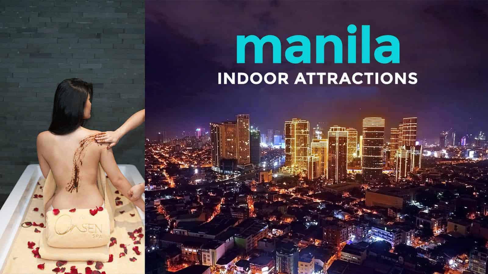 5 Enjoyable Indoor Attractions in Metro Manila