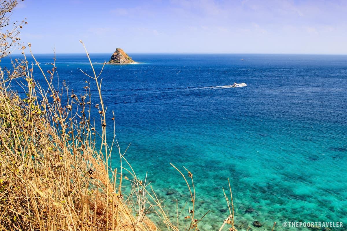 Sombrero Island from Sepoc Island