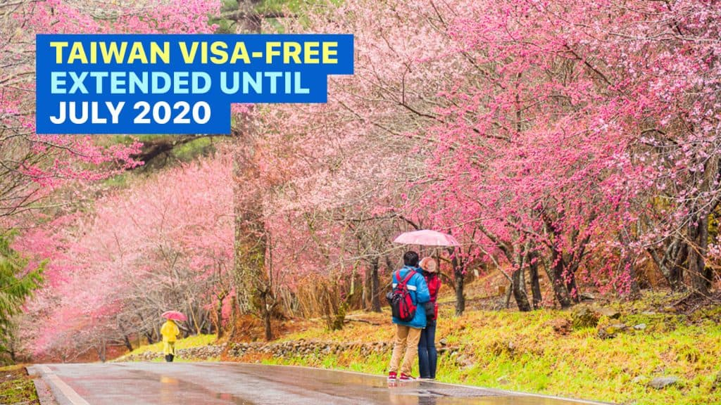 Taiwan Visa Free Entry Requirements Until July 2020 The Poor Traveler Itinerary Blog