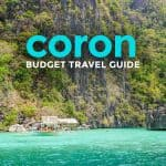 2019 CORON PALAWAN TRAVEL GUIDE with Budget Itinerary