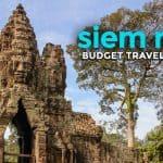 SIEM REAP Budget Travel Guide 2017