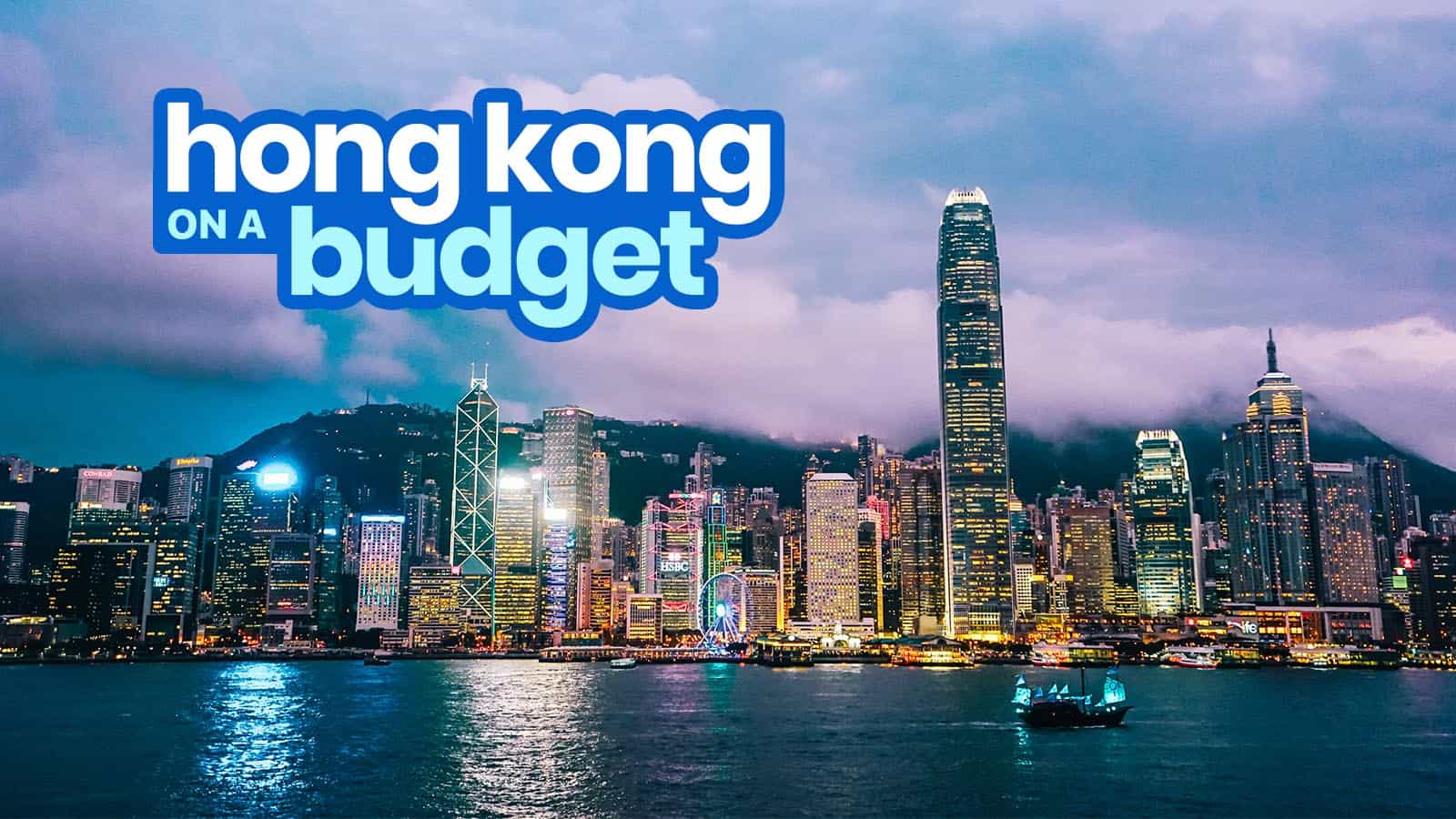 HONG KONG TRAVEL GUIDE with Budget Itinerary