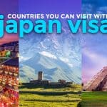 Countries Filipinos can Visit with a Japan Visa