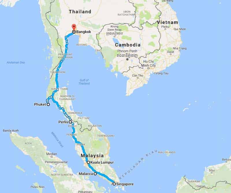 Southeast Asia Backpacking Itineraries And Routes 2