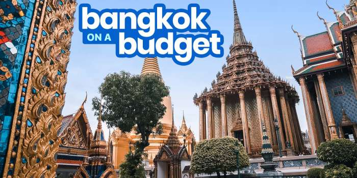 New! BANGKOK TRAVEL GUIDE with Budget Itinerary 2018