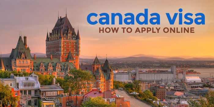 CANADA VISA: REQUIREMENTS & ONLINE APPLICATION for Filipinos