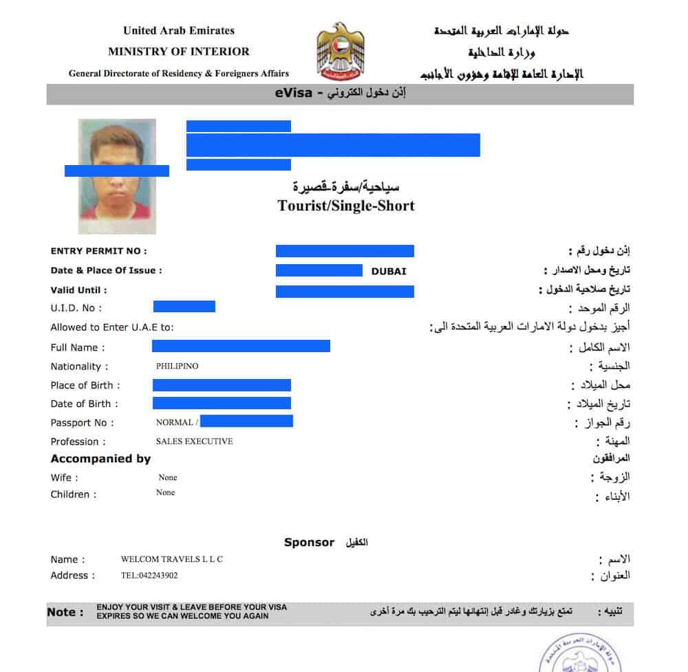 United States Traveler Visa Abu Dhabi