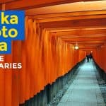 SAMPLE OSAKA-NARA-KYOTO ITINERARY (with Costs)
