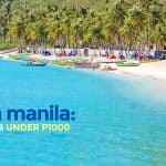 7 DAY TOURS FROM MANILA Under P1000