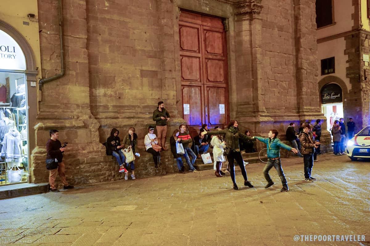 Florence Dancing