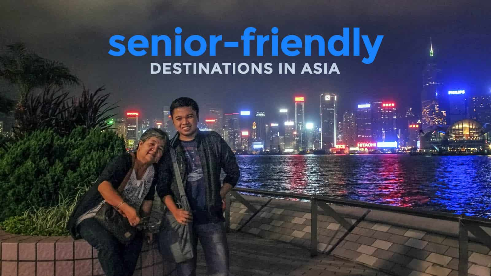 TRAVELING WITH SENIORS: Top 10 Destinations in Asia
