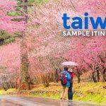 SAMPLE TAIWAN ITINERARIES (4-5 Days)