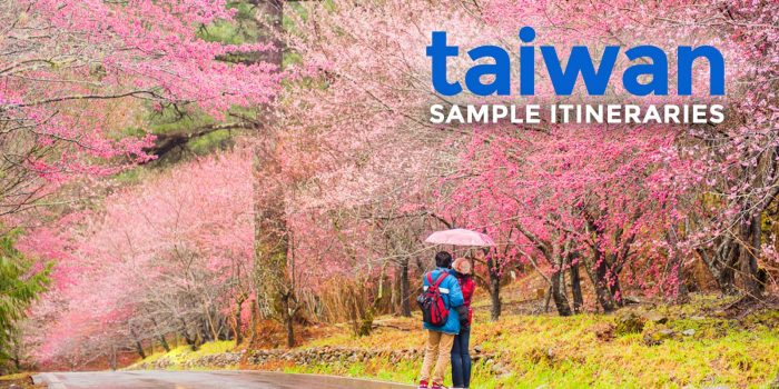 Sample TAIWAN ITINERARY (4-5 Days)