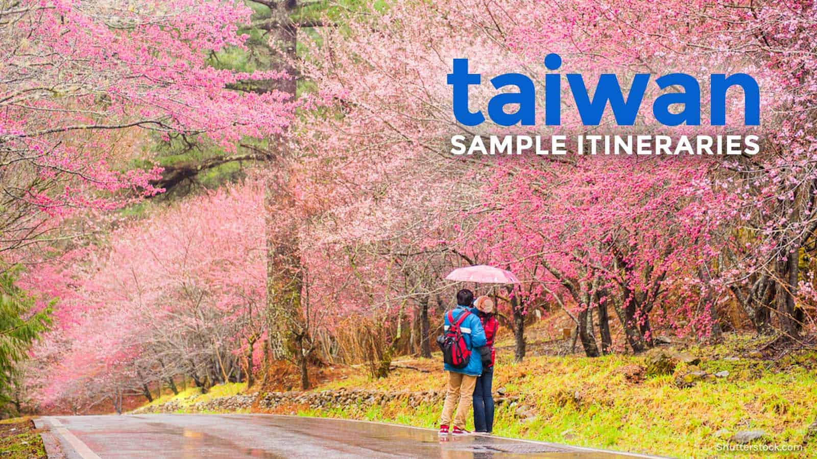 Taiwan Sample Itineraries