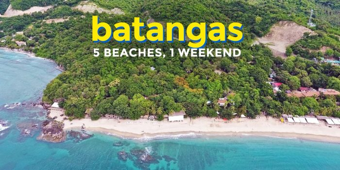 5 Batangas Beaches in 1 Weekend Adventure