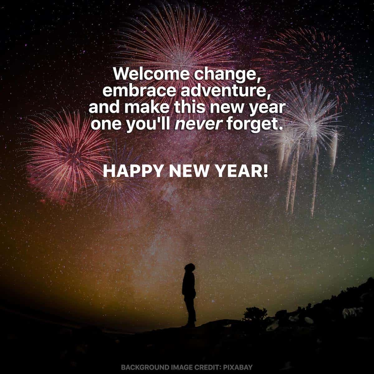 9 NEW YEAR QUOTES, WISHES & GREETINGS for Travelers  The Poor