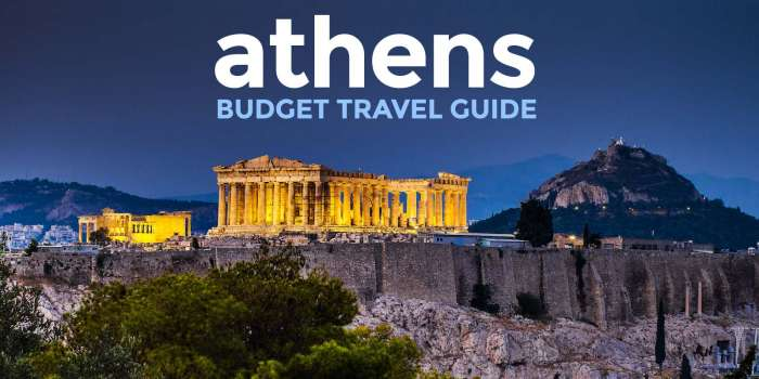 New! ATHENS TRAVEL GUIDE: Itinerary, Budget, Things to Do