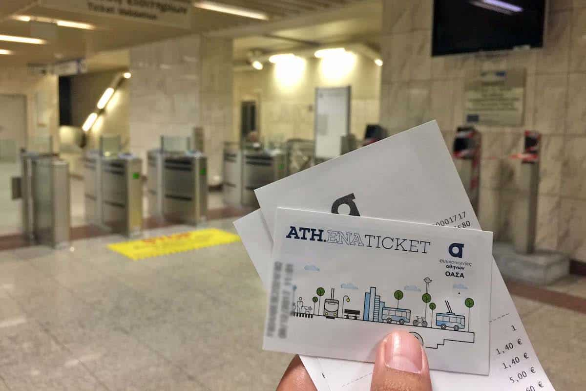 Athens Metro Ticket