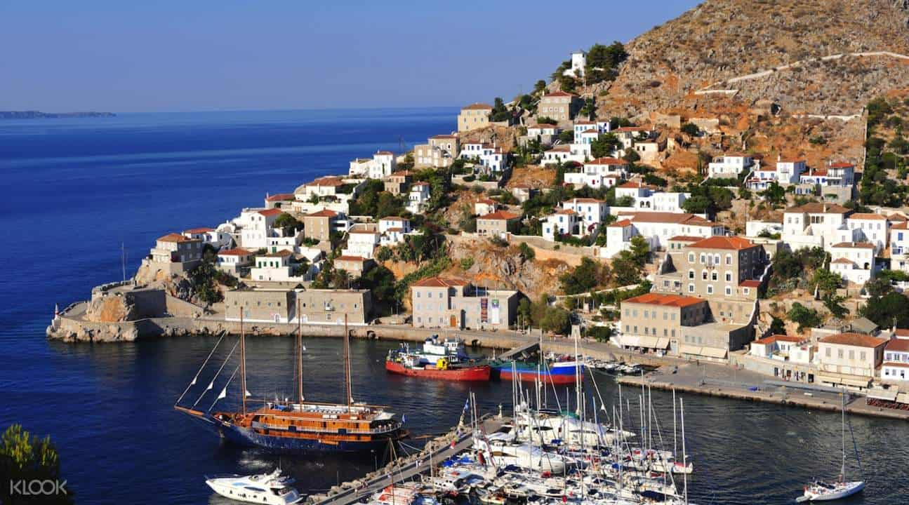 Poros, Hydra and Aegina Day Cruise