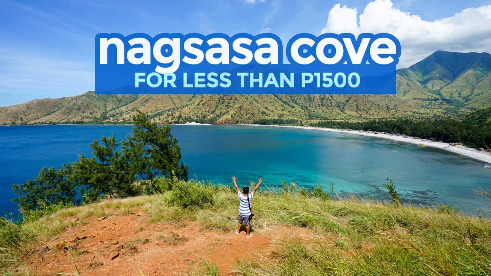 NAGSASA COVE ON A BUDGET 2018: Travel Guide & Itinerary