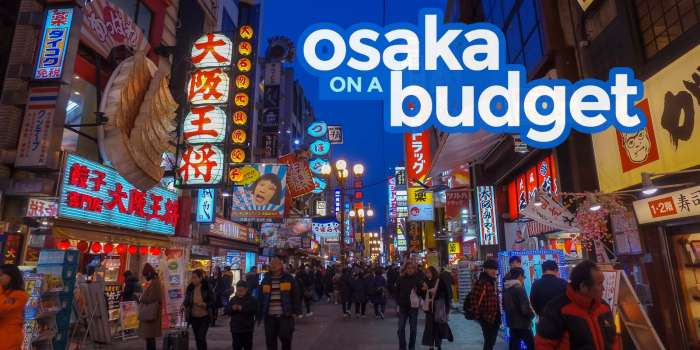 New! OSAKA TRAVEL GUIDE: Budget Itinerary, Things to Do