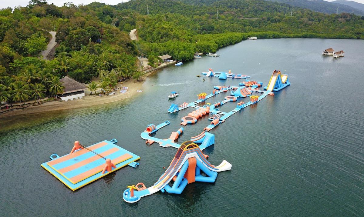 Kamia Bay Inflatable Island