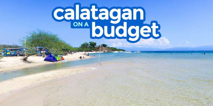 CALATAGAN, BATANGAS: Travel Guide with Budget Itinerary