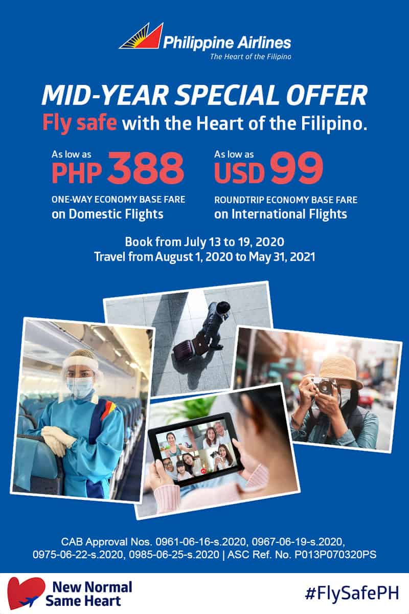 PHILIPPINE AIRLINES PROMO 2020-2021: How to Book Successfully | The Poor  Traveler Itinerary Blog