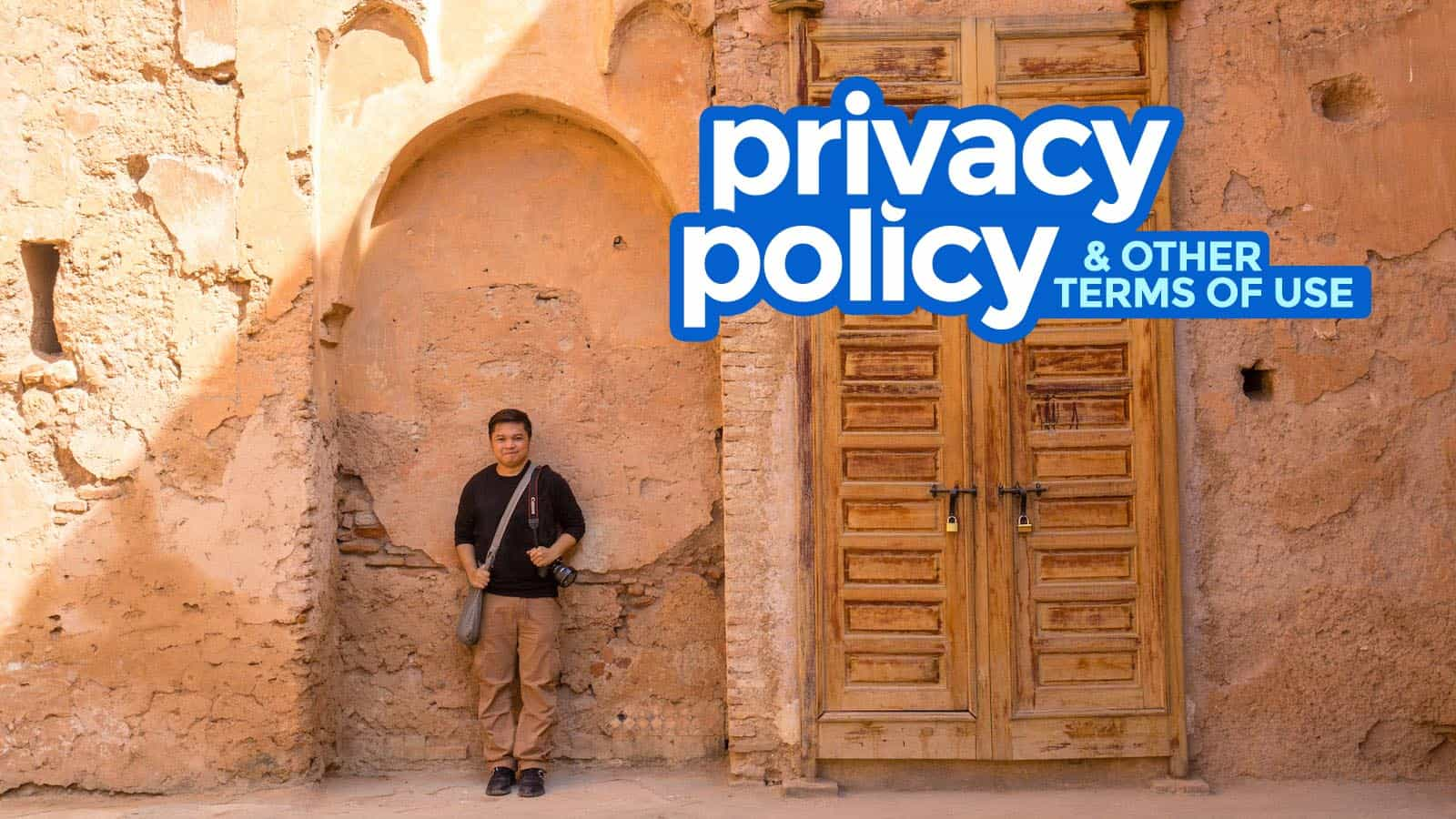 Privacy Policy & Terms of Use