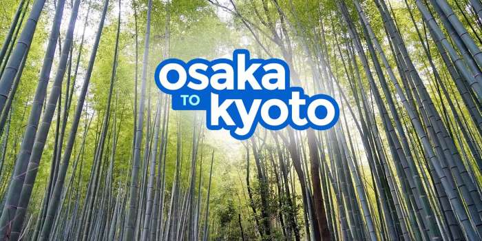 How to Get from OSAKA TO KYOTO: By Train & By Bus