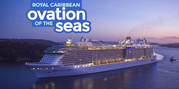 Royal Caribbean OVATION OF THE SEAS: Cruise Guide for First-Timers
