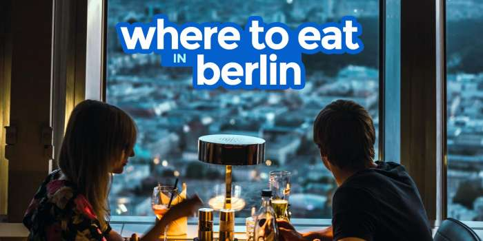 WHERE TO EAT IN BERLIN