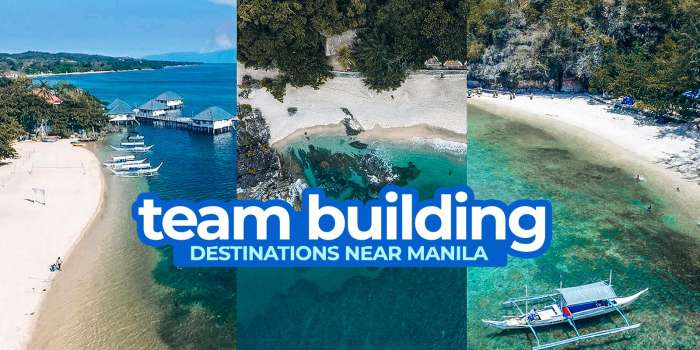 9 TEAM BUILDING & COMPANY OUTING Destinations Near Manila