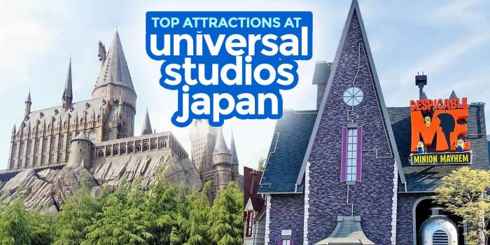 UNIVERSAL STUDIOS JAPAN: BEST RIDES & ATTRACTIONS