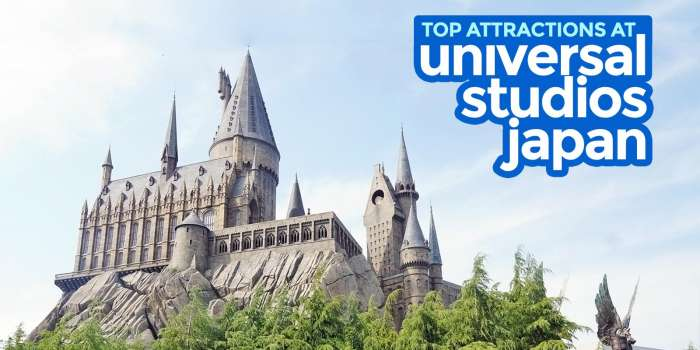 UNIVERSAL STUDIOS JAPAN: Guide for First-timers