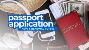 Philippine Passport APPLICATION FORMS (New & Renewal)