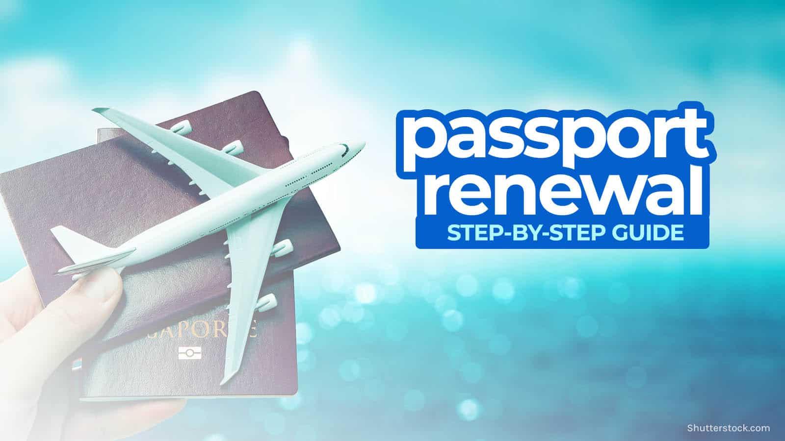 PHILIPPINE PASSPORT RENEWAL: Requirements & DFA Application