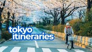 8 Sample TOKYO ITINERARIES with Estimated Budget: 1-8 Days