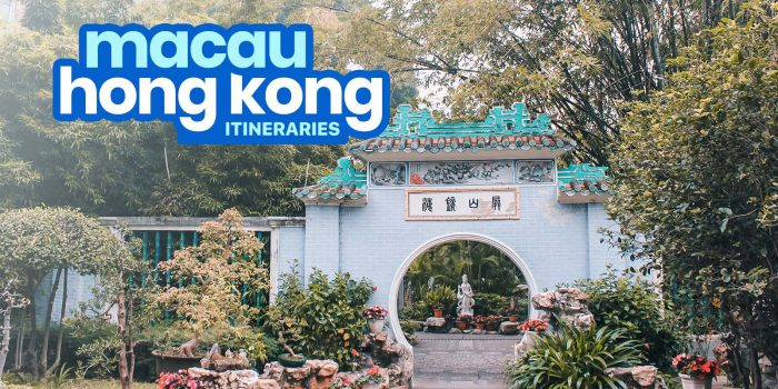 Sample HONG KONG-MACAU ITINERARIES: 3, 4, 5, 6 Days