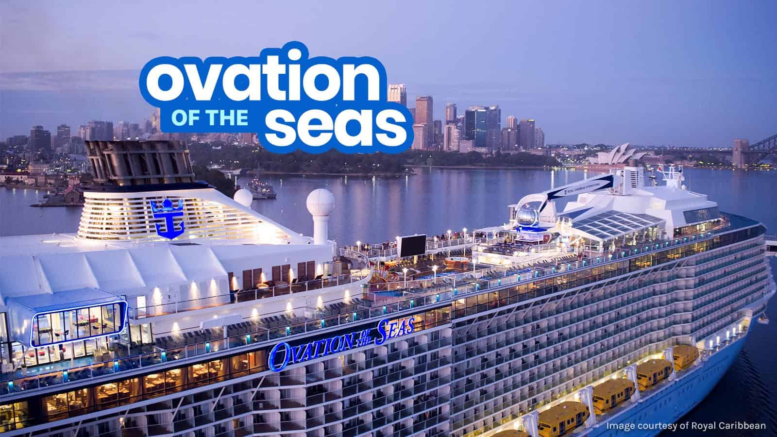 Royal Caribbean OVATION OF THE SEAS: Top Things to Do