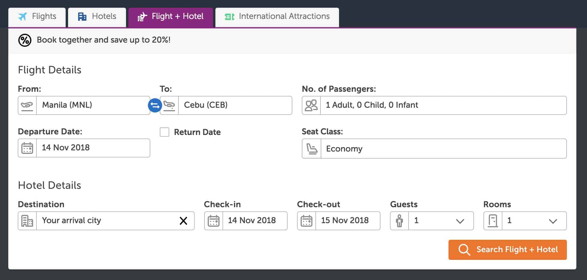 How To Book Flights Hotel Package With Traveloka The Poor Traveler Itinerary Blog