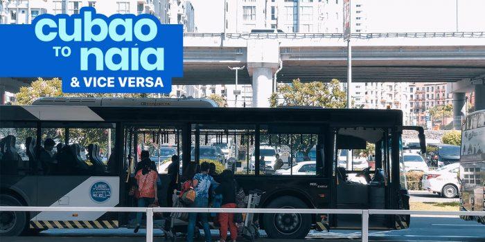 CUBAO to NAIA / NAIA to CUBAO: P2P Bus Schedule (UBE Express)