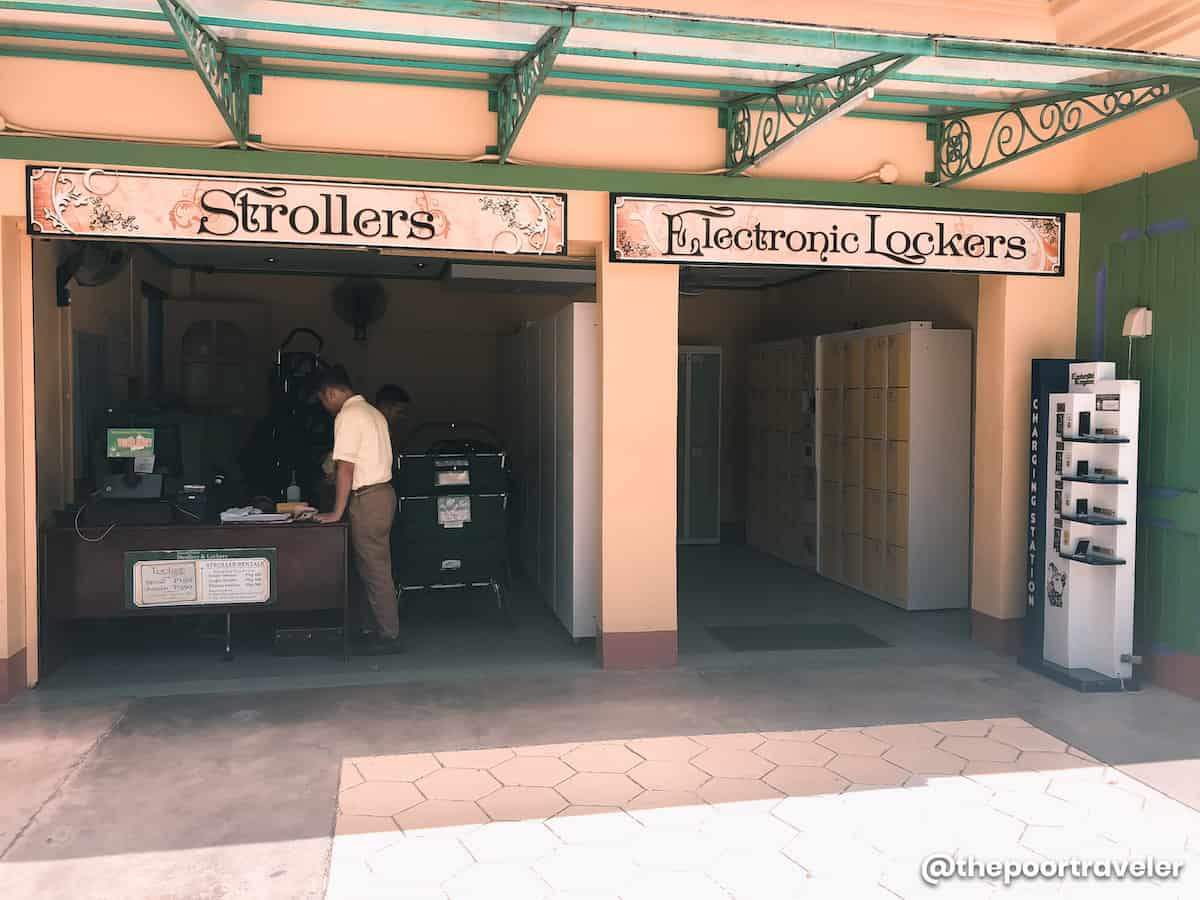 Enchanted Kingdom Lockers