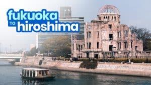 FUKUOKA TO HIROSHIMA: By Bus and Bullet Train (Shinkansen)