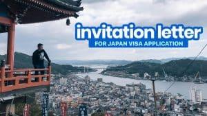 Sample INVITATION LETTER for JAPAN VISA Application (Reason for Invitation)