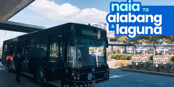 NAIA to ALABANG & LAGUNA P2P Bus Schedule: UBE Express