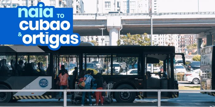 NAIA to CUBAO & ORTIGAS P2P Bus Schedule: UBE Express